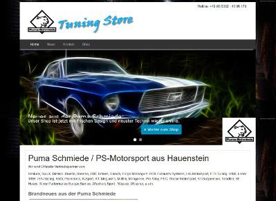 Relaunch der Homepage von der Puma Schmiede